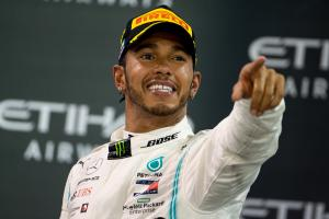 Dominant Hamilton shows why he's No. 1 in Abu Dhabi
