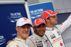 Hamilton: Schumacher records not considered with contract