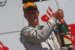 Mercedes pays tribute to F1 'icon' Schumacher on 50th birthday