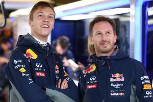 Daniil Kvyat, Christian Horner, Red Bull,