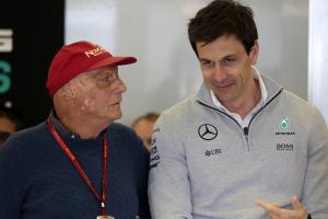 Wolff: Lauda's death overshadows Mercedes' 2019 season