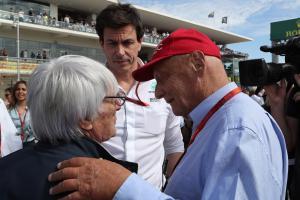 Wolff: F1 misses Ecclestone's hand grenades