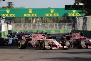 Force India highs and lows revolved around Baku – Szafnauer