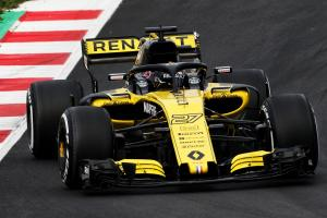 "Hulkenberg was ""scared"" on his first F1 2018 run"