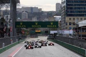 When is the Azerbaijan GP and how can I watch it?