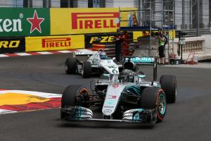 Rosbergs demo title-winning F1 cars in Monaco
