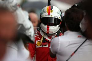 Vettel 'won't lose sleep' over German GP crash