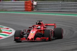 Vettel brushes off FP2 spin at Monza