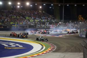 F1 Gossip: Air pollution levels threaten Singapore GP?