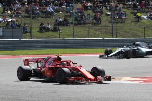 Raikkonen takes US GP victory, Hamilton fails to clinch title