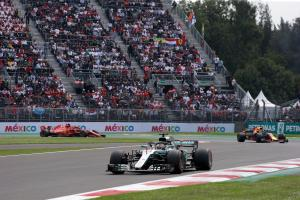 Third DRS zone added for Mexican GP
