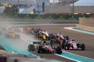 F1 Abu Dhabi GP - Race Results
