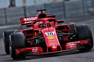 Leclerc closes out Abu Dhabi F1 test fastest for Ferrari