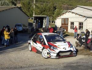 Meeke leads Rallye Monte-Carlo shakedown ahead of Toyota debut