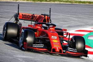 Barcelona F1 Test 1 Times - Monday 10AM