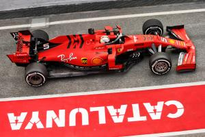 Barcelona F1 Test 1 Times - Monday 11AM