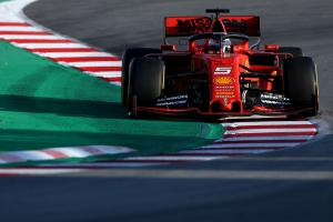 Vettel: Ferrari's start to F1 testing 'close to perfection'