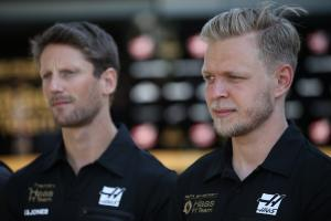 "Magnussen says Haas driver clashes ""blown out of proportion"""