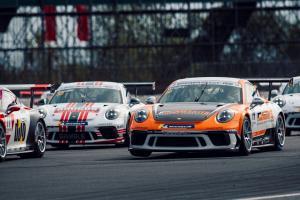 Wrigley leads JTR 1-2-3 in reverse grid race