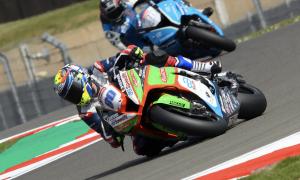 Barbera back in at Quattro Plant JG Speedfit Kawasaki for Thruxton