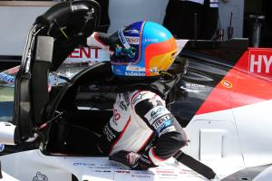 Alonso quickest for Toyota in Spa WEC FP1