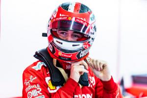 Leclerc not setting 'particular target' for Ferrari F1 debut