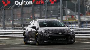 Toyota's new BTCC challenger makes track debut
