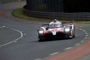 Kobayashi improves provisional pole time in Le Mans Q2