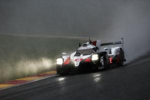 Alonso, Buemi, Nakajima take snow-affected WEC Spa win