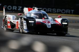 Lopez leads Nakajima as rain, Safety Cars hit Le Mans