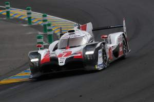 #7 Toyota loses lead with one hour to go at Le Mans