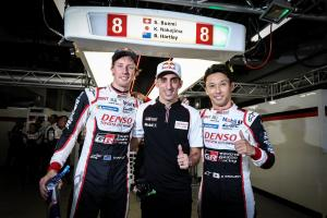 Hartley, Nakajima lead Toyota 1-2 in Fuji WEC qualifying