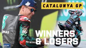 Quartararo on the up, Dovi down and out - Catalunya MotoGP Winners & Losers