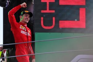 Leclerc 'feels part of Ferrari's F1 history' after Monza win