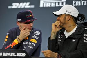 "Hamilton finds Verstappen comments ""funny', a 'sign of weakness'"