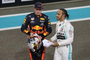 Verstappen: 'Hamilton is very good but he's not God'