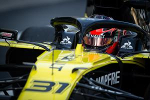 VIDEO: Ocon's 2020 Renault F1 seat fit