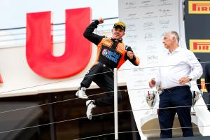 Boccolacci scores MP's first GP3 win of 2018
