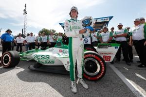Colton Herta takes maiden IndyCar pole at Road America