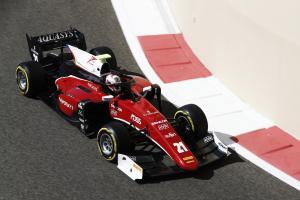 Ferrari F1 junior Fuoco dominates Abu Dhabi F2 finale