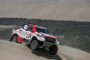 Al-Attiyah continues to dominate despite Loeb stage win