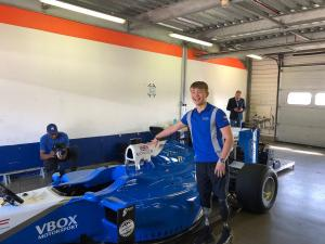 Monger given surprise F1 test at Rockingham
