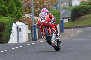 Johnston leads Superbike practice at NW200