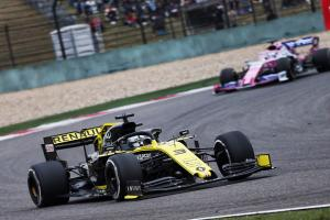 Ricciardo surprised by Racing Point's Chinese GP race pace