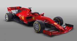 Ferrari 90th anniversary motif replaces Mission Winnow for F1 opener