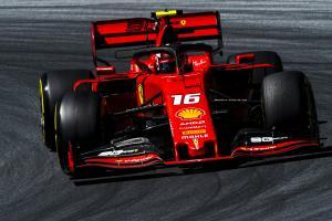 Leclerc takes 2nd F1 pole in Austria as Hamilton, Vettel hit trouble