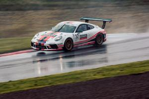 Gamble dominates reverse grid Knockhill race