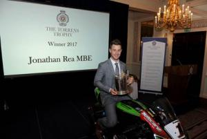 Rea named RAC's Torrens Trophy winner