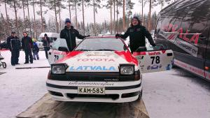 Latvala gets up to speed in snow before Rally Sweden