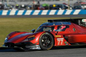 Rast quickest as Alonso's car crashes in first Daytona practice